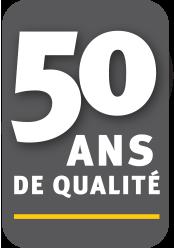 50 ans de qualité